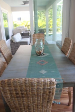 """Light-filled dining area was formerly a standard """"Florida room"""""""