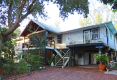 (1) Exterior of the 40-year-old home of Charles Sobczak and Molly Heuer