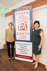 Zontian Darla Letourneau and Brenda Tate of Earn to Learn Florida