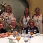 (1) Members of Zonta San-Cap in Cincinnati: (from L, standing) Nancy Dreher, Katrina Wilhelm and Nola Theiss; (seated) Judy Langley, Pam Eccles and Erika Steiner. Not pictured: Karen Pati.